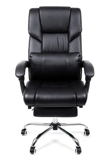 MDM Black Reclining Office Chair   Office Chair boutique-discount-malta.myshopify.com My Discount Malta