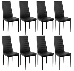 SIMON Batch of 8 dining room chairs