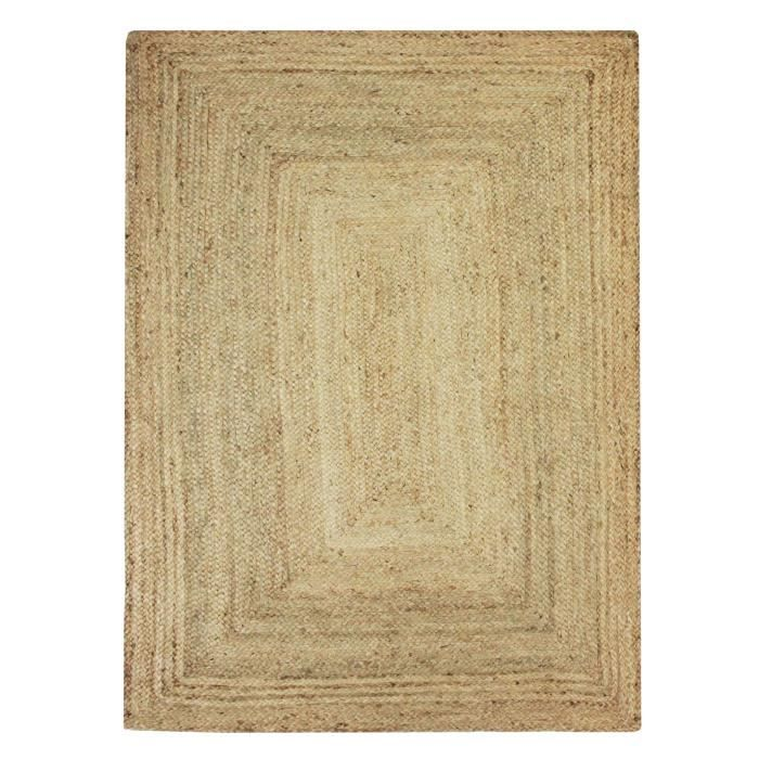 jute natural carpet