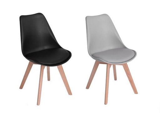 KLICKA - Lot of 8 Scandinavian Chairs    boutique-discount-malta.myshopify.com My Discount Malta