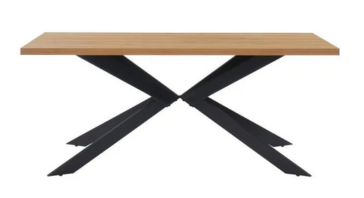 Flex Dining Table Industrial Style Table 6 to 8 people
