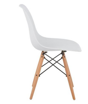 BRAKKA - 6 Dining Chairs Nordic Style - My Discount Malta
