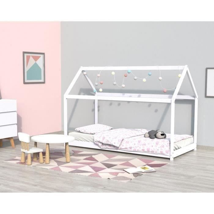 White Koala cabin bed with slates included