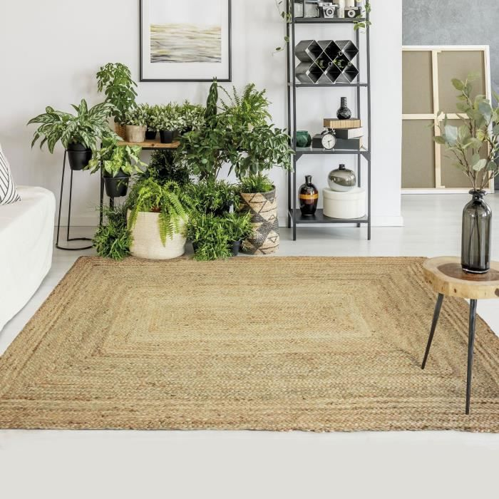 jute natural carpet ambience