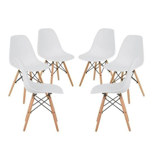 BRAKKA - 6 Dining Chairs Nordic Style   Dining Chairs boutique-discount-malta.myshopify.com My Discount Malta