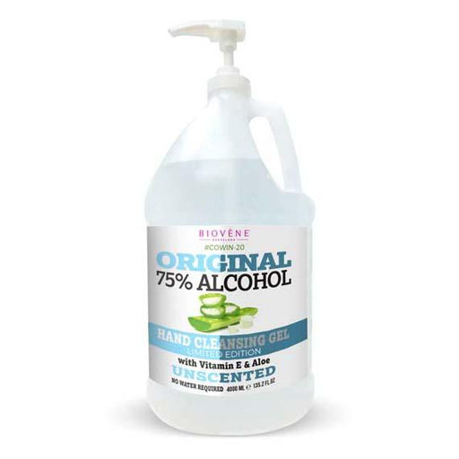 Original 75% Alcohol, Hand Cleansing Gel (4000 ml)