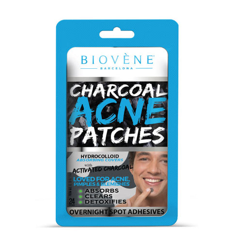 Charcoal Acne Patches (MansCraft)