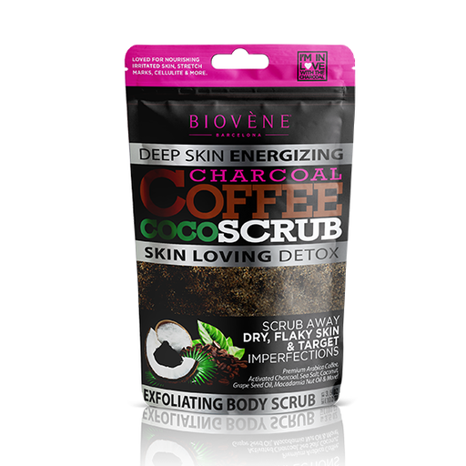 Charcoal Coffee Coco Scrub