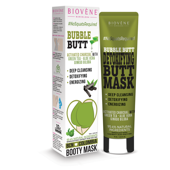 Bubble Butt, Detoxifying Butt Mask