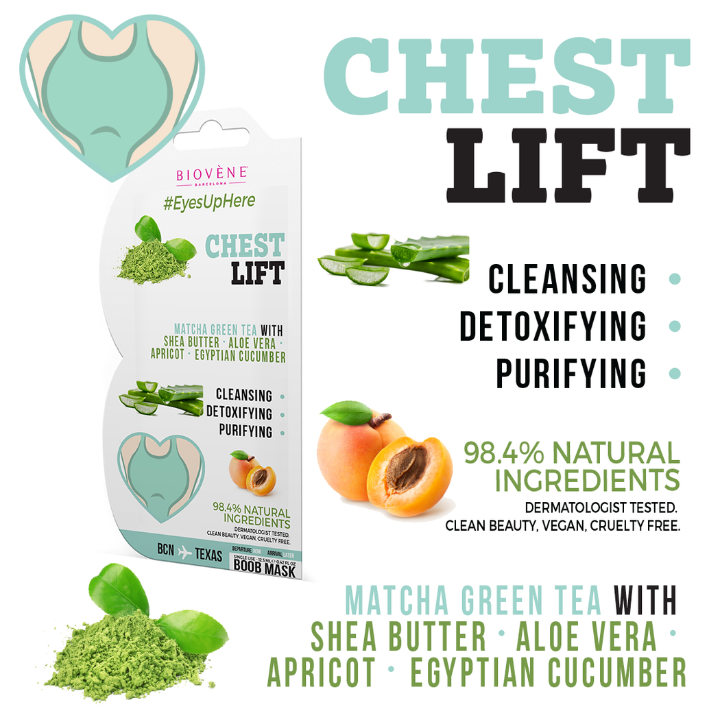 Chest Lift, Detoxifying Boob Mask