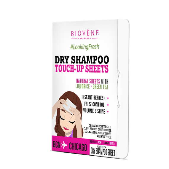 Dry Shampoo Touch-Up Sheets