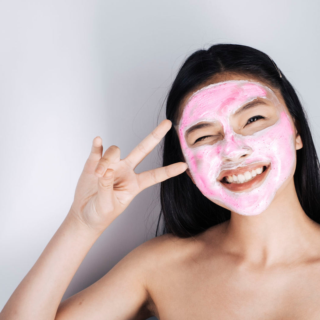 Holiday Glow, Australian Pink Clay Mask