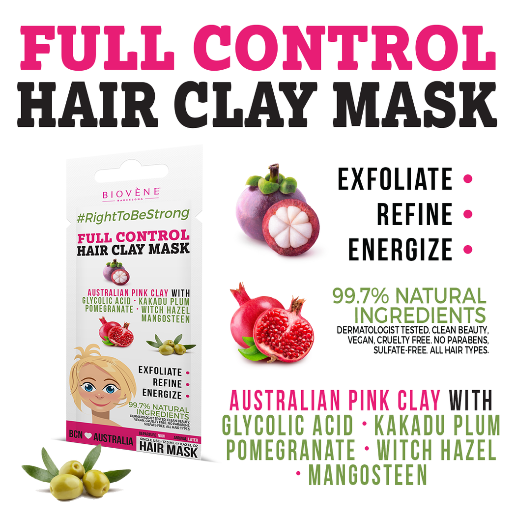 Full Control, Hair Clay Mask