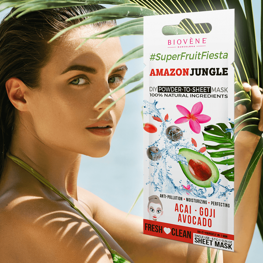 Amazon Jungle Super Fruit Fiesta Face Mask