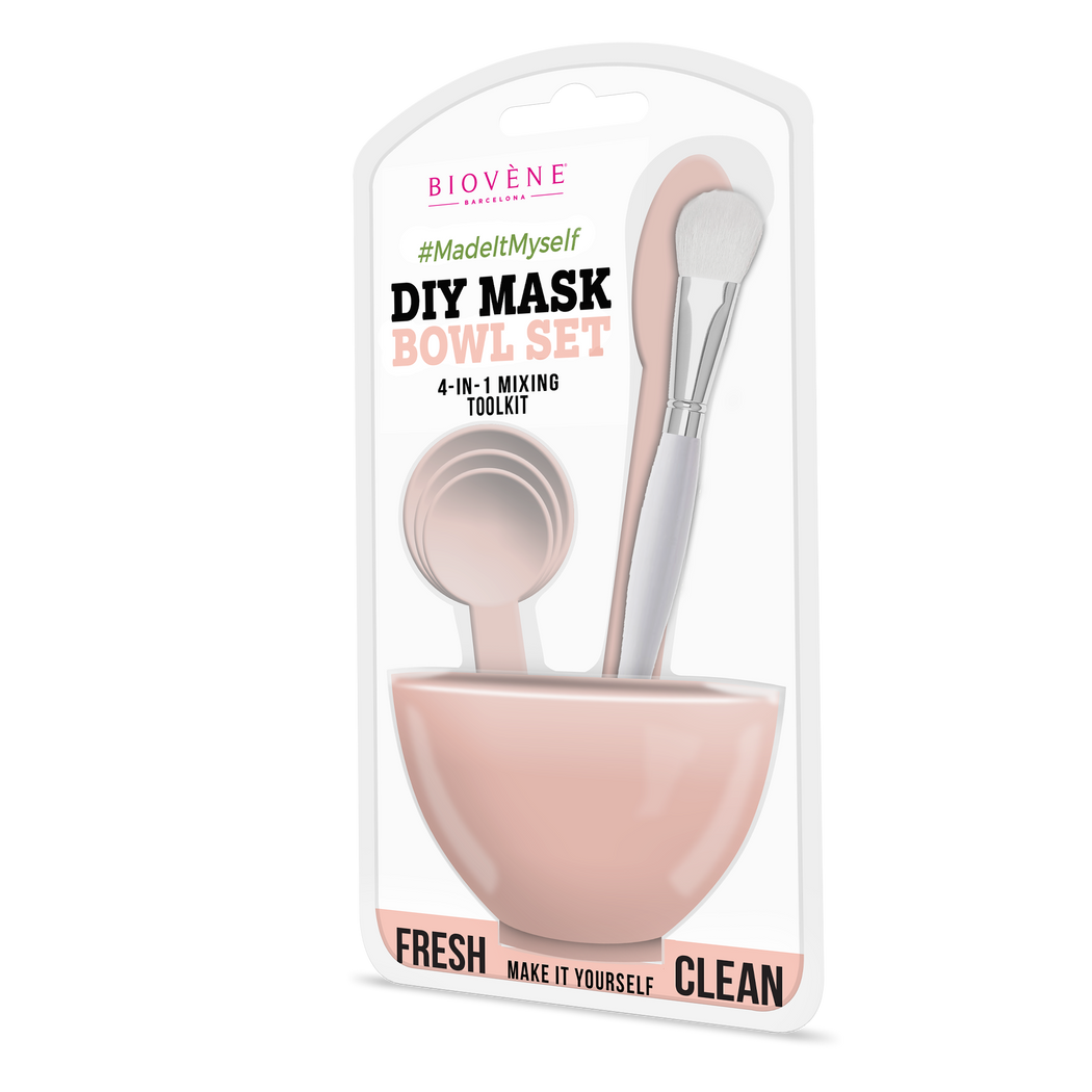 DIY Mask Bowl Set, 4-in-1, Baby Pink