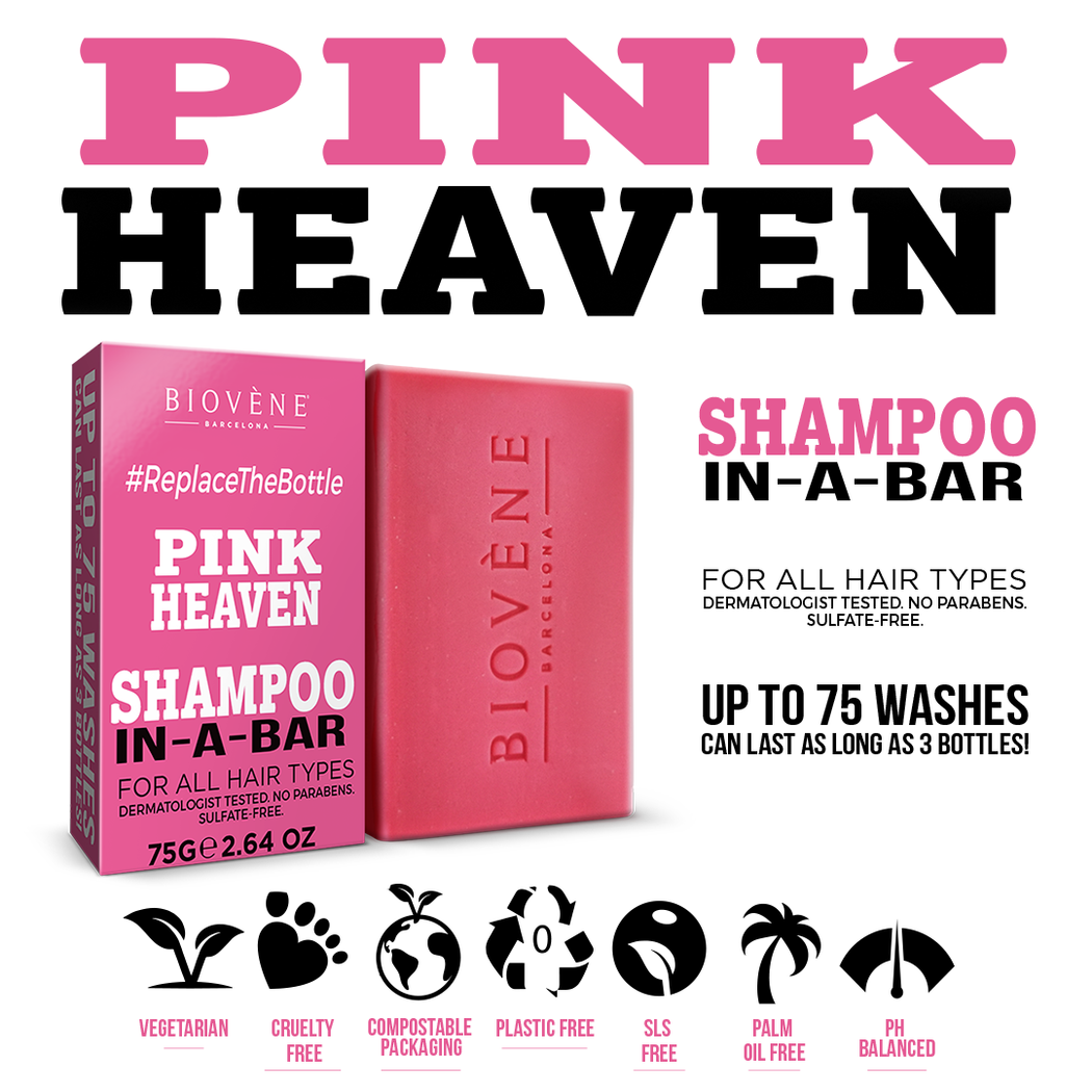 Pink Heaven, Shampoo-In-A-Bar