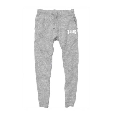 Laos Script 2 Embroidered Logo Jogger Pants