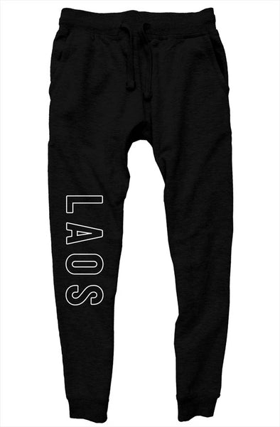 Laos Outline Jogger Pants