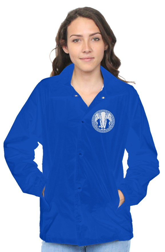 Lan Xang Royal Blue Coach Jacket