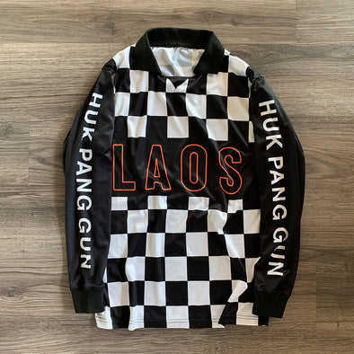 Checker Long Sleeve Soccer Jersey Preorder