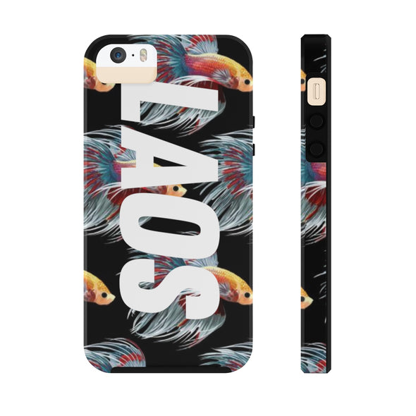 Pa Gut Fighting Fish Phone Cases