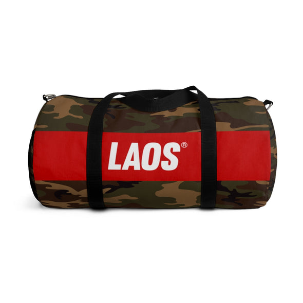LAOS Brown Camo Duffle Bag