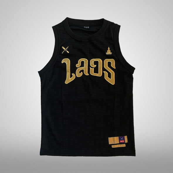 Sabaidee Gold Basketball Jersey