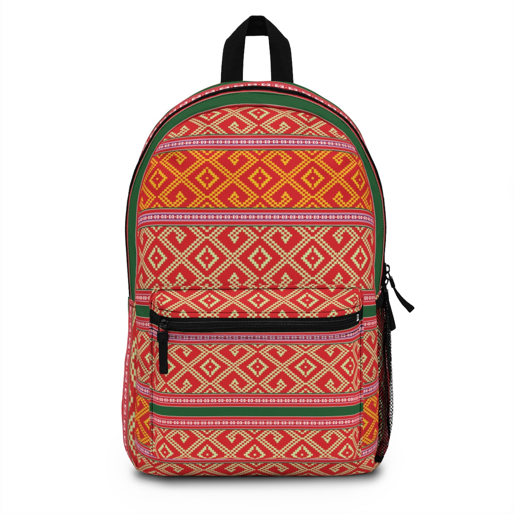 Lao Pillow Pattern Backpack