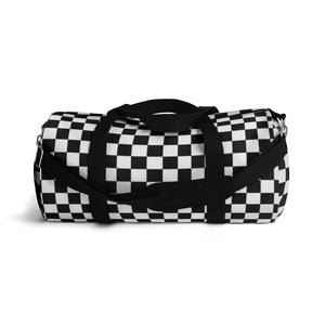 Checker Duffle Bag