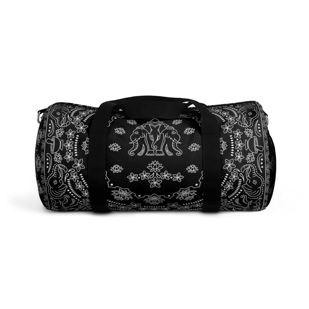 Elephant Bandana All-Over Duffle Bag