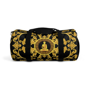 Golden Buddha All-Over Duffle Bag