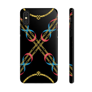 Crossed Chain Phone Cases