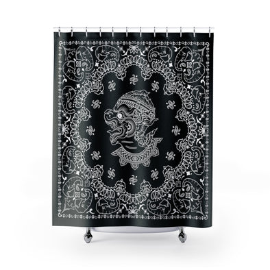 Hanuman Bandana Shower Curtains