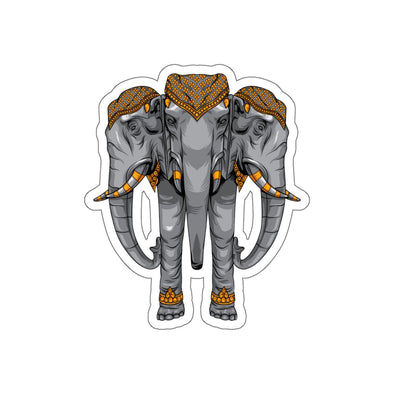 Elephant Kiss-Cut Stickers