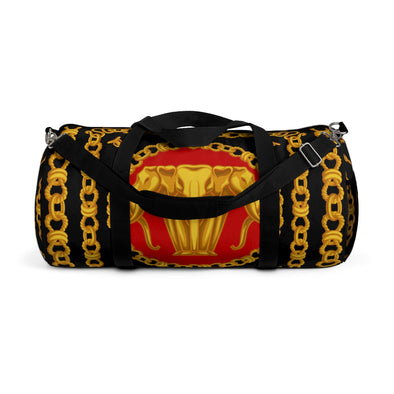 Golden Elephant Chain Duffel Bag