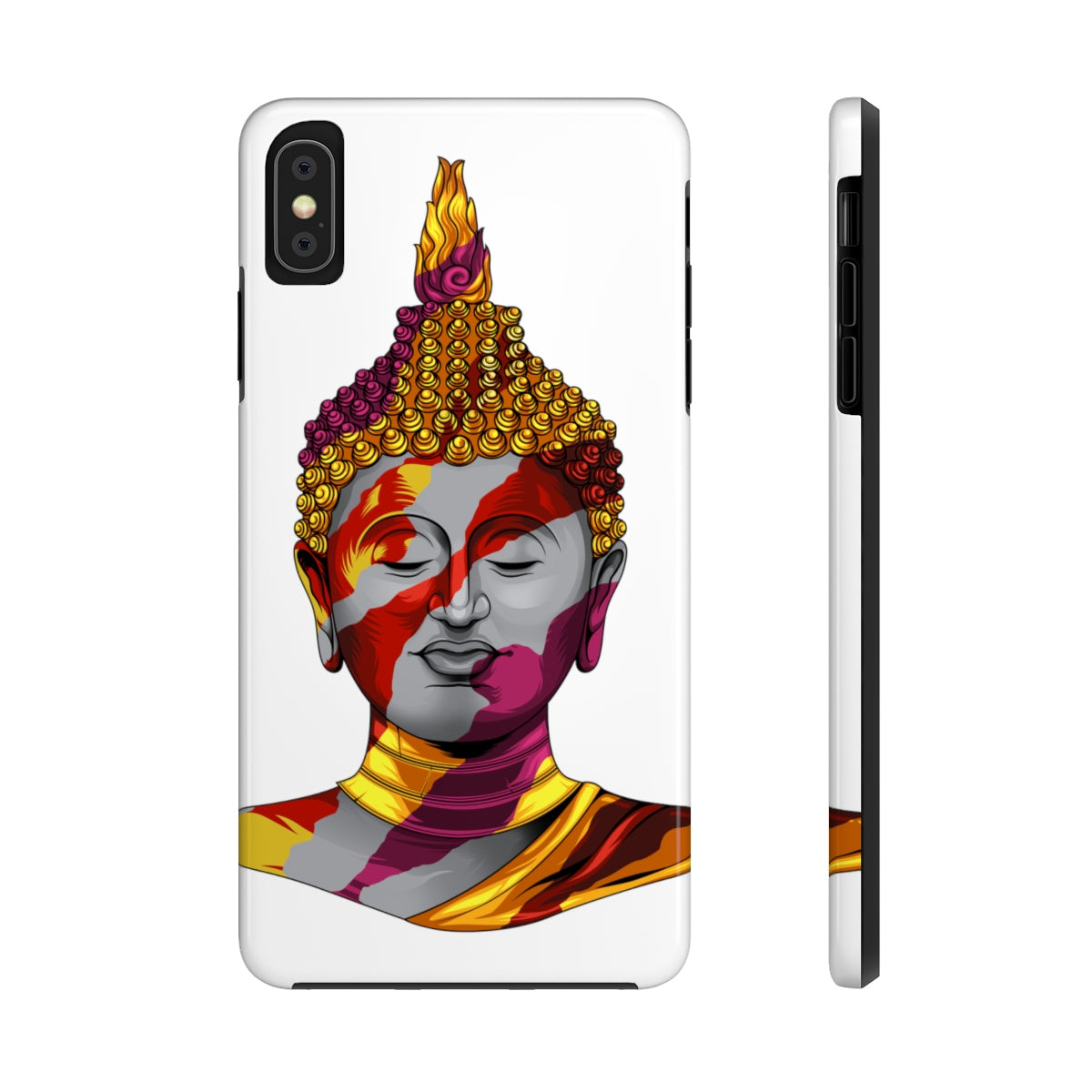 Buddha Paint White Case Mate Tough Phone Cases