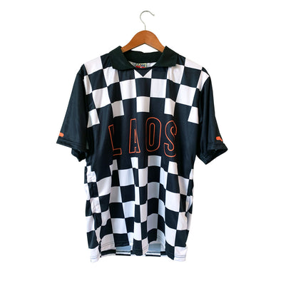 Checker Short Sleeve Soccer Jersey