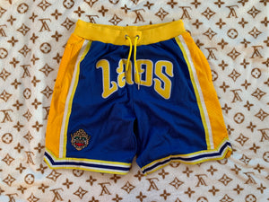 Laos Knee High Warriors Basketball Shorts
