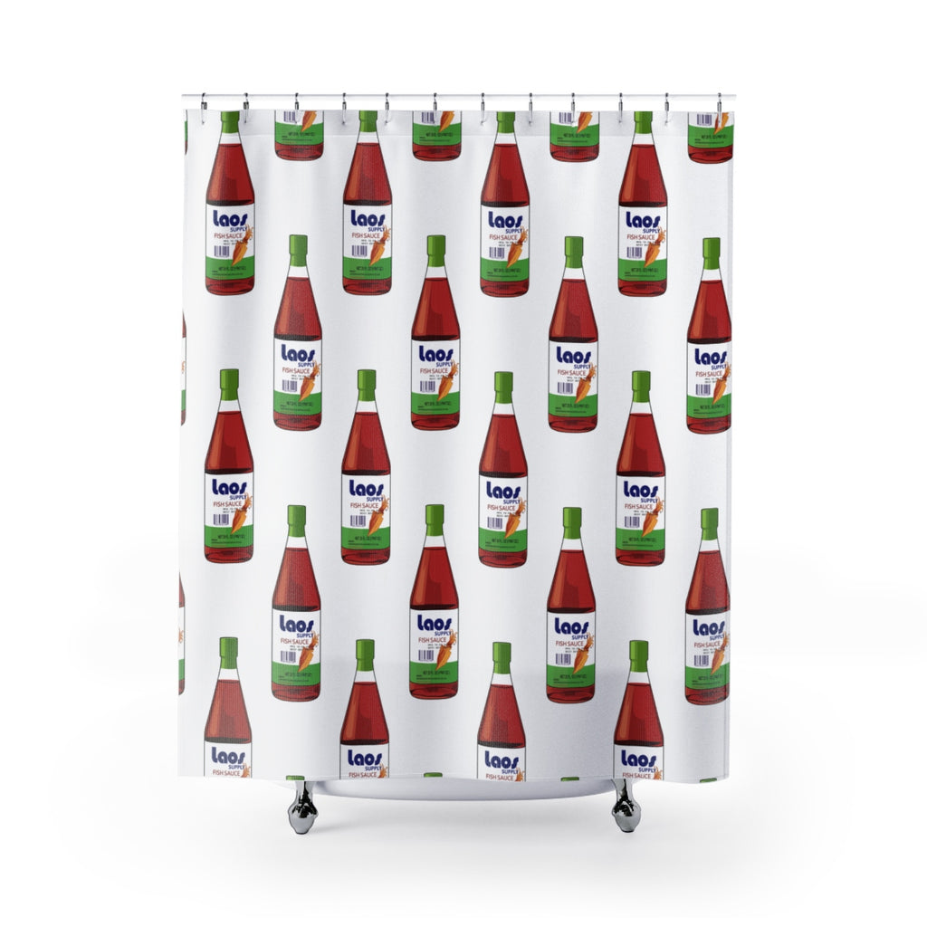 Nam Pa (Fish Sauce) Shower Curtains