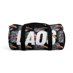 Pa Gut Fighting Fish Duffle Bag