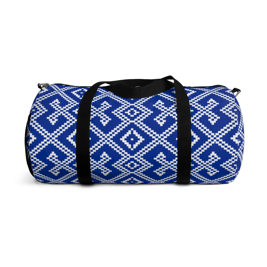 Lao Pillow Pattern Duffle Bag