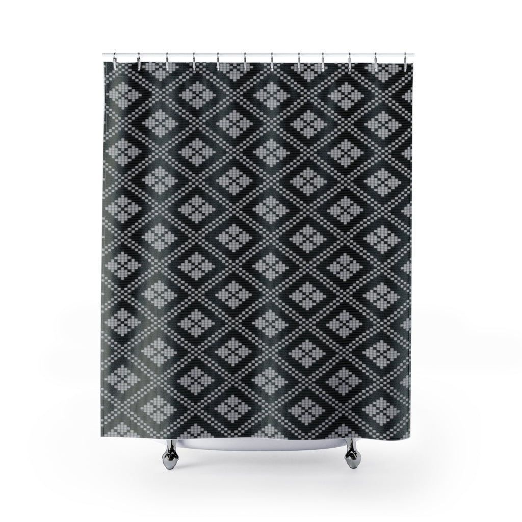 Saht All-Over Shower Curtains