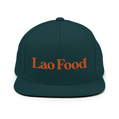 Laos Food Snapback Hat