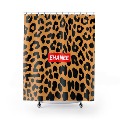 Ehanee Cheetah Shower Curtains