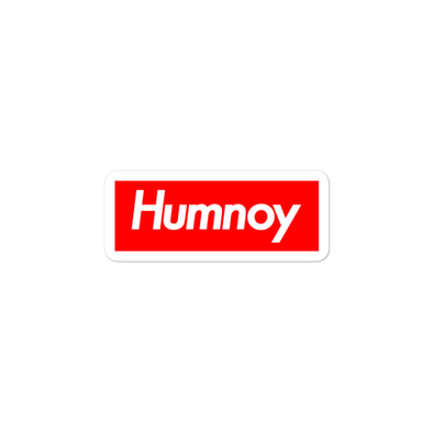 Humnoy Bubble-free stickers