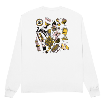 Culture Pattern Champion Long Sleeve Shirt
