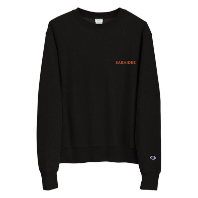 Sabaidee Embroidered Logo Champion Sweatshirt
