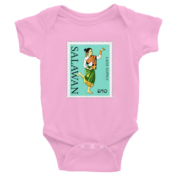 Salawan Stamp Infant Bodysuit