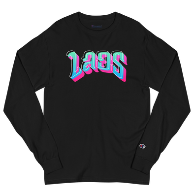 Laos Type Front Logo Champion Long Sleeve Shirt