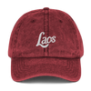 Laos Script 3 Vintage Cotton Twill Dad Cap